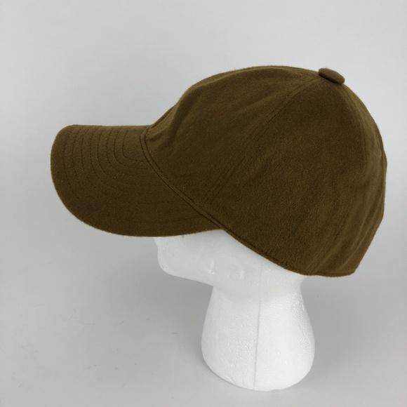 Borsalino Other - Borsalino Cashmere Baseball Cap - Camel Brown 7.5
